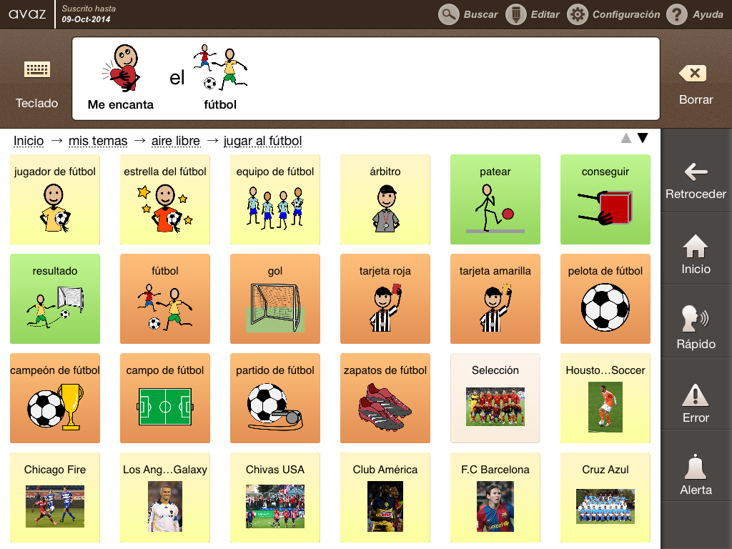 Avaz_Spanish App