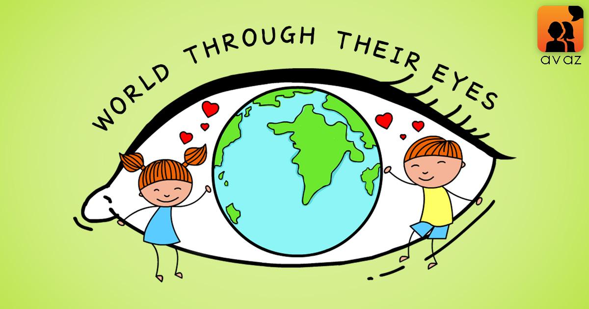 Logo of World Through Their Eyes Logo