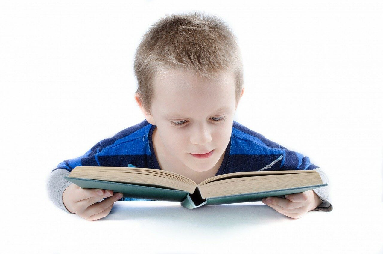 Child with reading challenges due to Dyslexia