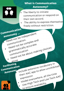 AAC communication
