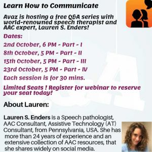 AAC awareness webinars
