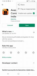 Avaz AAC ANdroid
