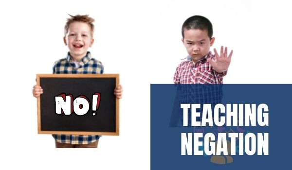 Teaching Negation to AAC users