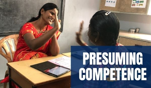 Presume Competence AAC